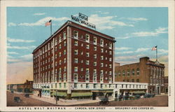 Hotel Walt Whitman Postcard