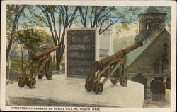 Tercentenary Cannons on Burial Hill