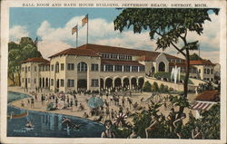 Ball Room and Bath House Building, Jefferson Beach