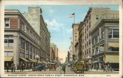 Nicollet Avenue, Looking North from 8th Street