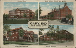 4 Views of Gary, Ind., The Steel City