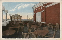Hotel Severin, Jacksonian Roof Postcard