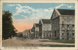 Row of Government Shops, Rock Island Arsenal