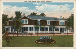 Golf Club House, Rock Island Arsenal