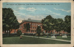 The Cannon and Auditorium, Iowa State Teachers College
