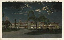 United Brotherhood of Carpenters and Joiners National Home by Night