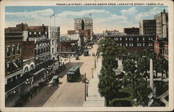 Franklin Street, Looking North From Lafayette Street