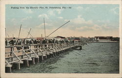 Fishing from the Electric Pier