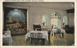 Corner of Dining Room, Hotel Gadsden