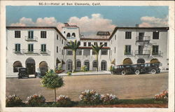 Hotel at San Clemente, Calif.