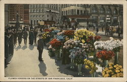 Flower Vendors in the Streets of San Francisco