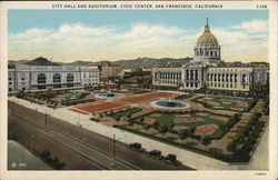 City Hall and Auditorium, Civic Center