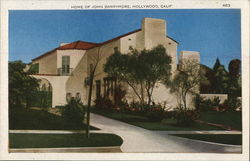 Home of John Barrymore