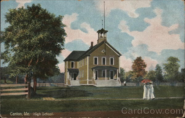 High School Canton Maine
