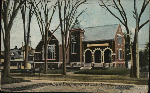 Public Library Waterville Maine
