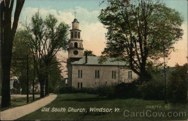 Old South Church Windsor Vermont