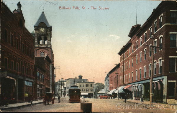 The Square Bellows Falls Vermont