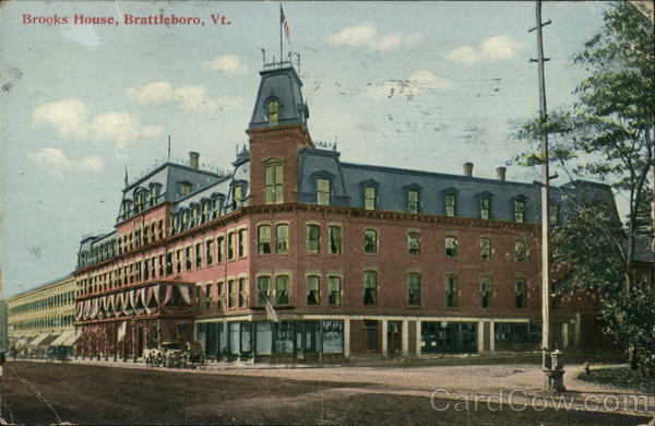 Brooks House Brattleboro Vermont