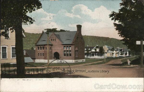 Jeudevine Library Hardwick Vermont