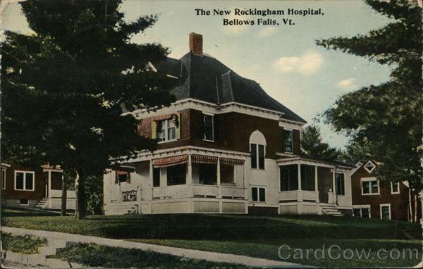 The New Rockingham Hospital Bellows Falls Vermont