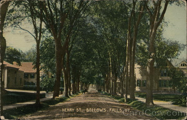 Henry St. Bellows Falls Vermont