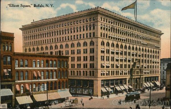 Ellicott Square Buffalo New York