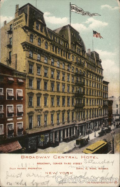 Broadway Central Hotel New York City