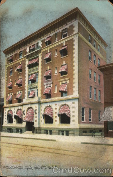 Kingsborough Hotel Gloversville New York