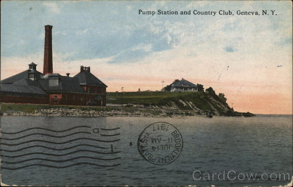 Pump Station and Country Club Geneva New York