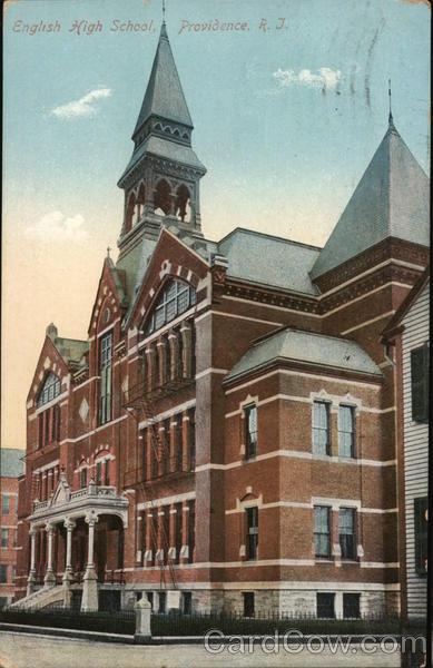 English High School Providence Rhode Island