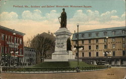 Soldiers' and Sailors' Monument, Monument Square