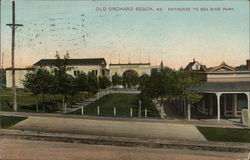 Old Orchard Beach, Entrance to Sea Side Park