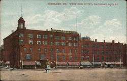 West End Hotel, Railroad Square