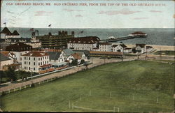 Old Orchard Pier, from the Top of the Old Orchard House