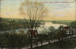 Lowell, Mass. View of Merrimac River