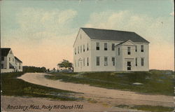 Rocky Church 1785 Postcard