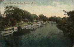Boats at Dustin's Landing