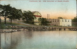 Gem Theatre at Peaks Island
