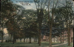 The Campus, General View, Colby College
