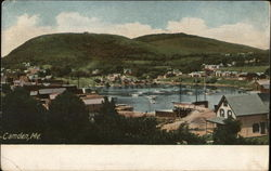 Scenic View of Camden, Maine Postcard
