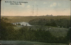 Bird's Eye View on Androscoggin