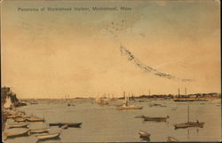 Panorama of Marblehead Harbor
