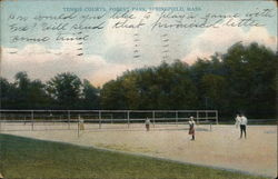 Tennis Courts, Forest Park