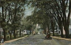 Elm Street Looking South