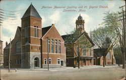 Merriam Memorial Building and 1st Baptist Church