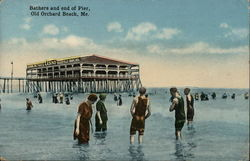 Bathers and end of Pier