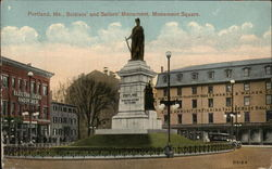Soldiers and Sailors' Monument, Monument Square