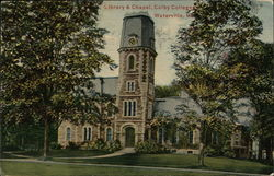 Library & Chapel, Colby College