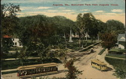 Monument Park from Augusta House