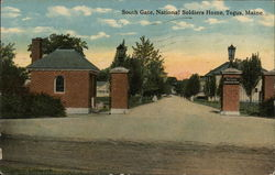 South Gate, National Soldiers Home Postcard